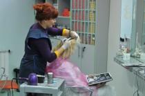 """Окрашивание волос в салоне красоты """"Dissar"""" на Оболони"""