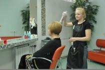 """Укладка волос в салоне красоты """"Dissar"""" на Оболони"""